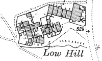 Map of Low Hill, Baildon Moor, 1934
