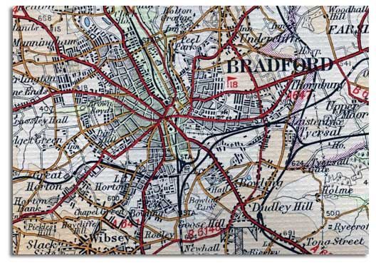 Bradford Historical and Antiquarian Society Maps